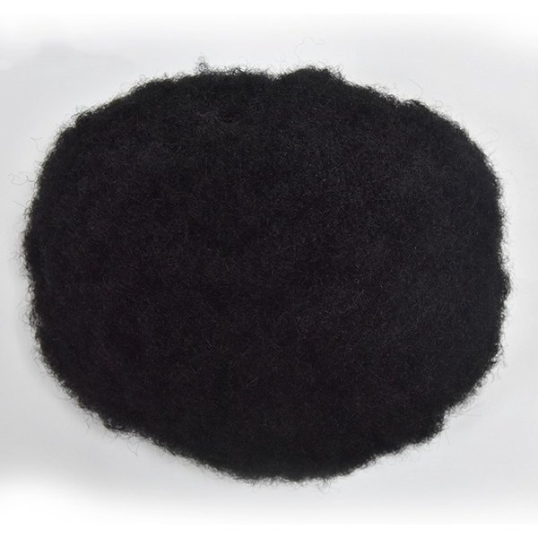 Afro Toupee Swiss Lace Toupee For Men Hairpiece Afro Curly Men Wig Full Lace Curly Human Hair Men Toupee