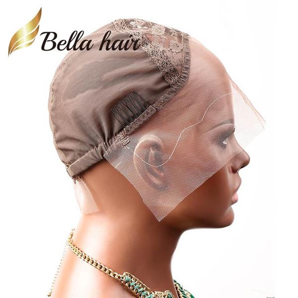 Brown & L & Front Lace Cap