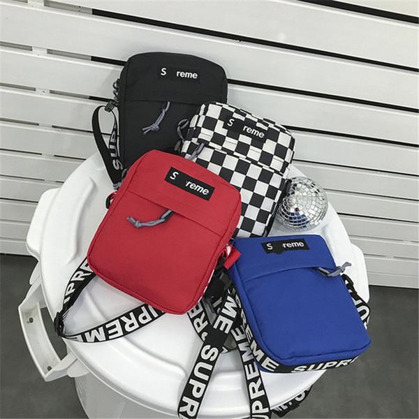 Luxury Letters Women Mini Shoulder Bag Designer Crossbody Belt Messenger Bags Travel Sports Canvas Chest Pouch Coin Purse Fashion Tote C6604