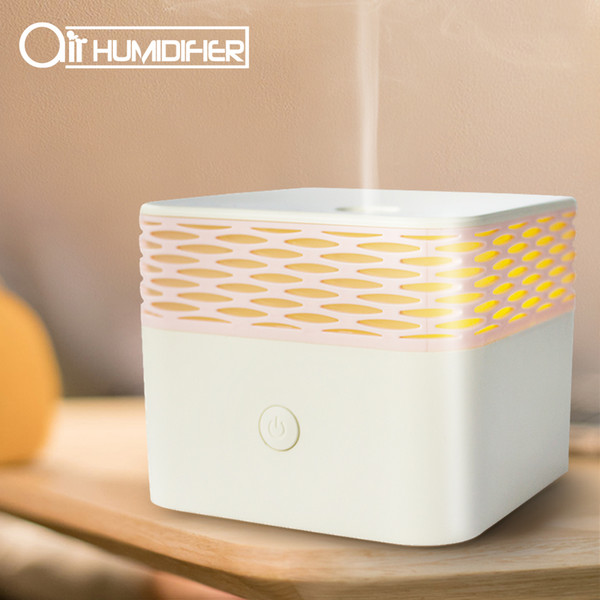 top popular Essential Oil Fragrance Lamp Humidifier Ultrasonic Aromatherapy Machine USB Humidifier Spray Incense Machine Furnace Home use 2021