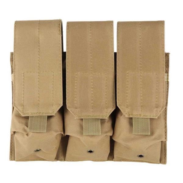 Molle Tactical Magazine Pouch Pistola per Esterni Pistola di Ripresa Vest Strumento Dump Drop Caccia Airsoft Bag J2 # 304210