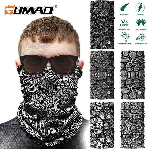 Sonnenschutz 3D Nahtlose Bandana Gesichtsmaske Schild Schlauchschal Sport Laufen Angeln Radfahren Ski Stirnband Mädchen Männer Nackenschutz