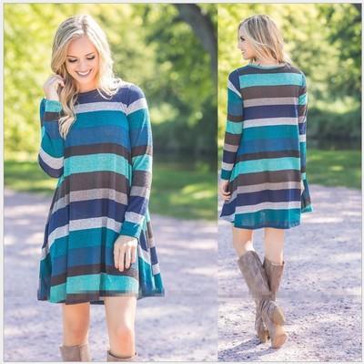 Bayan Baskılı Uzun Kollu Elbiseler Moda Yeni Varış Bayan Casual Bahar Elbiseler Streetwear Kadınlar için Etekler Boyut S-XL