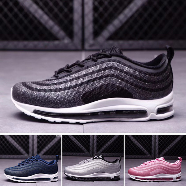2018 LX Kids Runing Shoes boys runner Silver Pink Blue Black Children outdoor toddler athletic big boys girls maxes sneakers