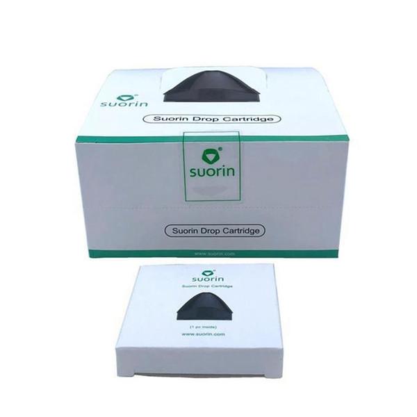 Original Suorin Drop Cartridge Unit 2ml für Suorin Drop Kit Elektronische Zigarette Ersatzteile Zubehör Hohe Qualität