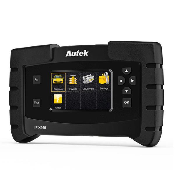 Autek IFIX969 OBD2 Otomotiv Tarayıcı Tam Sistem Iletim ABS Hava Yastığı SAS Motor EPB Sıfırlama ECU Programlama Otomatik Teşhis Aracı
