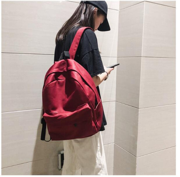 Mild vintage sentido menina saco feminino versão coreana do colegial Campus retro bolsa de ombro maré marca feminina ins lona selvagem