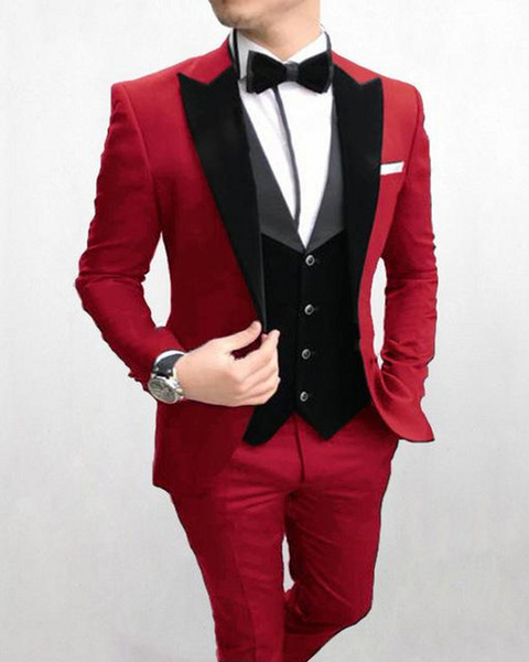 Want To Buy Black Suit Red Tie Wedding Up To 62 Off