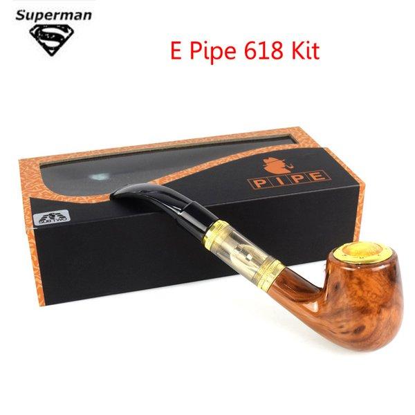 SUB TWO Vape Electronic Cigarette E Pipe 618 Kit Vaporizer Kit With Wood Built In Battery Vs Kamry K1000 Guardian Vape Pen
