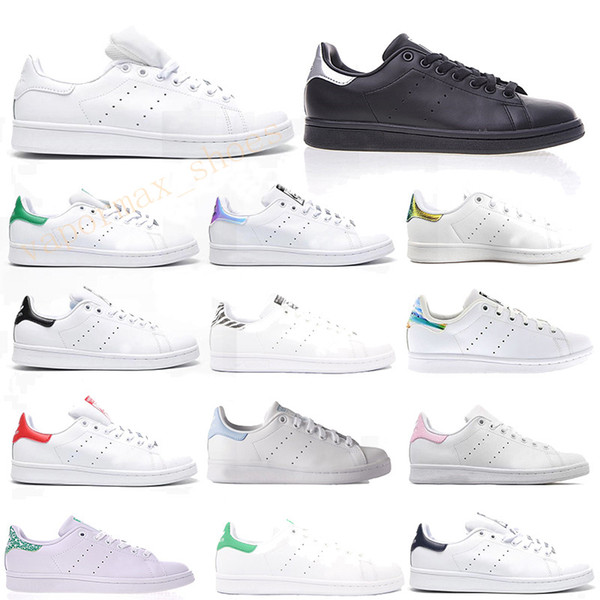 Runningman Stan Smith Shoes Designer Leather White Shoe For Men Women Sneakers Sport White Black Trainers Shoes