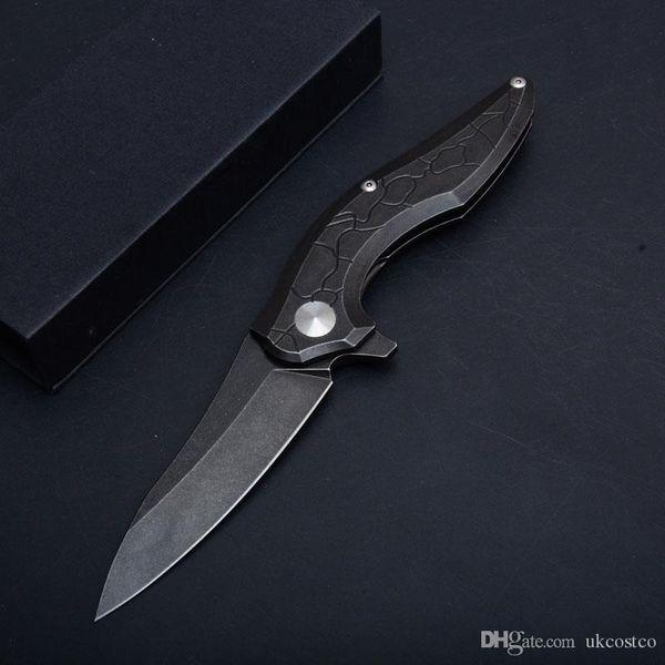 4 estilos flipper rolamento de esferas dobrável faca 58HRC lâmina de acampamento ao ar livre facas de caça G10 Handle 4.92 polegada fechada P850Q