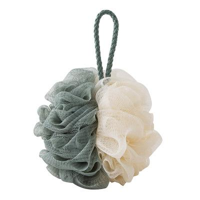 A50 high quality Loofah Flower Bath Ball Bath Tubs Cool Ball Bath Towel Scrubber Body Cleaning Mesh Shower Wash Sponge