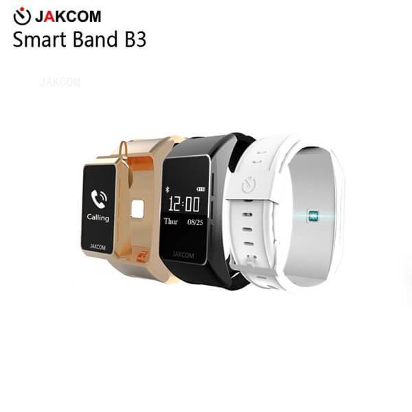 JAKCOM B3 Smart Watch vente chaude dans des bracelets intelligents comme san valentin uhr chatte en plastique