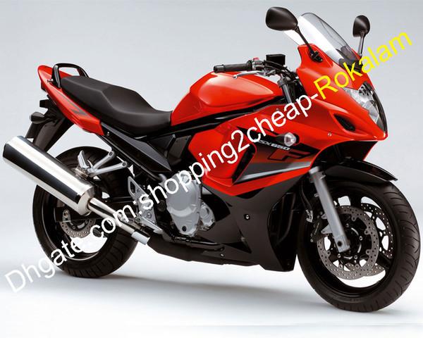Red Black Motorcycle 2008 2009 2010 2011 2012 2013 GSX 650F GSX650 F Katana Fairing For Suzuki GSX650F ABS Bodywork Fairings Set