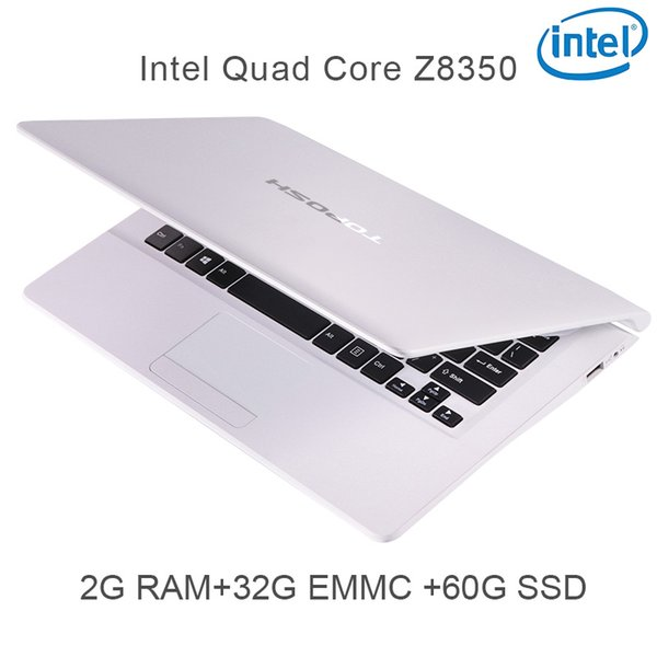 "P5-02 white 2G RAM 32G EMMC 64G Intel Atom Z8350 11.6"" Windows10 HDMI WIFI System Laptop bluetooth computer notebook USB3.0"