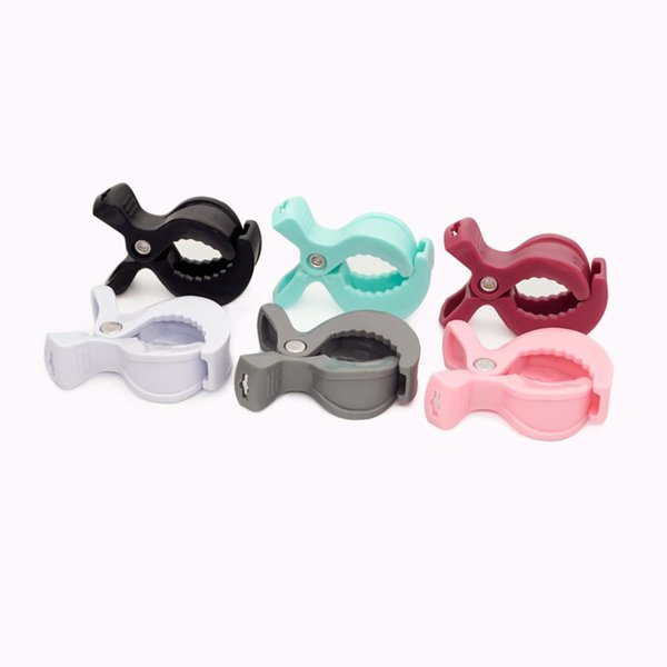 6pcs Baby Car Organizer Toys Accessories Lamp Pram Stroller Pegs To Hook Toys Seat Cover Blanket Clips Teether Holder