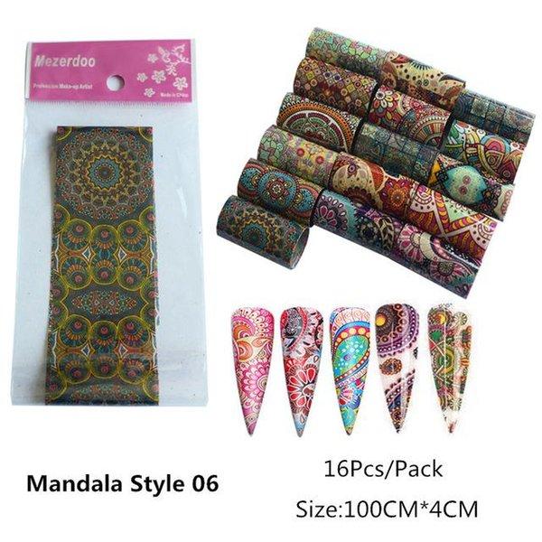 Mandala06 -16Pcs