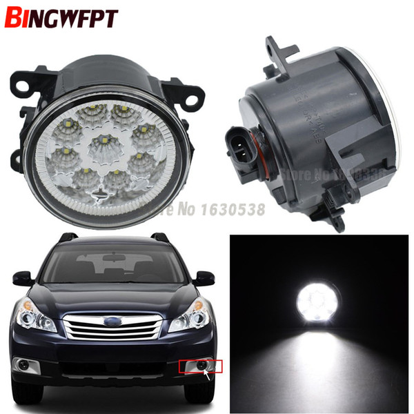 Pair Fog Lamp Assembly Super Bright Led Fog Light Chips White Yellow For Subaru Outback 2010 2011 2012 Us Model Hid Lights For Cars Price Hid Lights