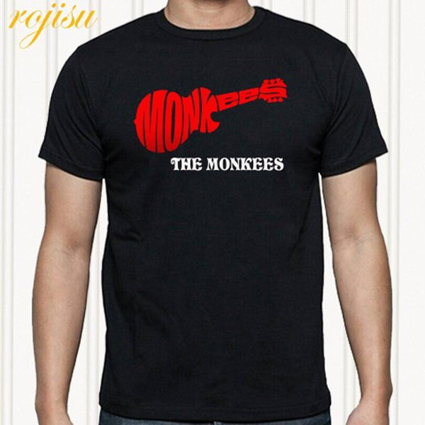 The Monkees Logo Rock Band Legend Men/'s White T-Shirt Size S to 3XL