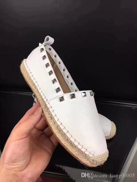 2019 designer de luxo senhoras casuais sapatilhas de couro rebites enrugada arena de pele de carneiro com tênis de luxo
