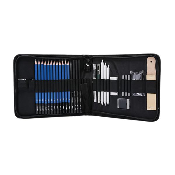HB 33 шт Набор инструментов для рисования эскизов Craft Supplies Карандаши для рисования Угольные карандаши для художественного искусства Набор инструментов для рисования для начинающих