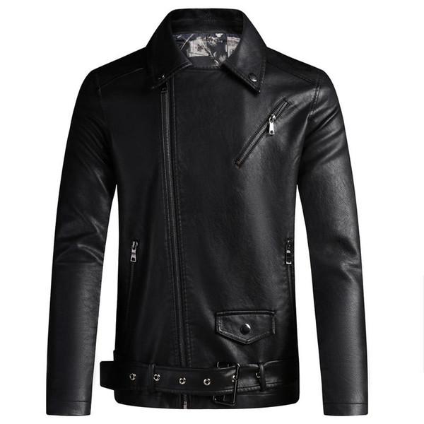 Erkekler Faux Deri Ceket Coat Erkekler Moda Slim Fit Süet Windbreakers Sonbahar Kış Erkek Ceket ve Mont Satış PY616