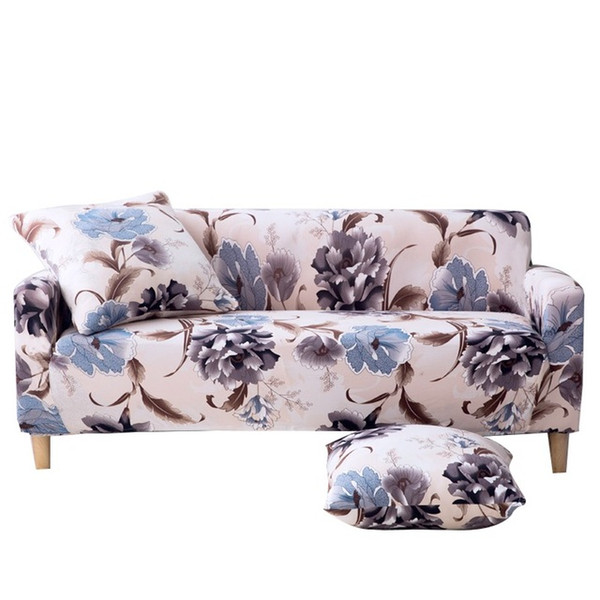 Incredible Sofa Slipcover Stretch Elastic Fabric Flower Bird Pattern Chair Loveseat Couch Settee Sofa Covers Pet Dog Protector 3 Seater Cleom Seat Covers For Dailytribune Chair Design For Home Dailytribuneorg