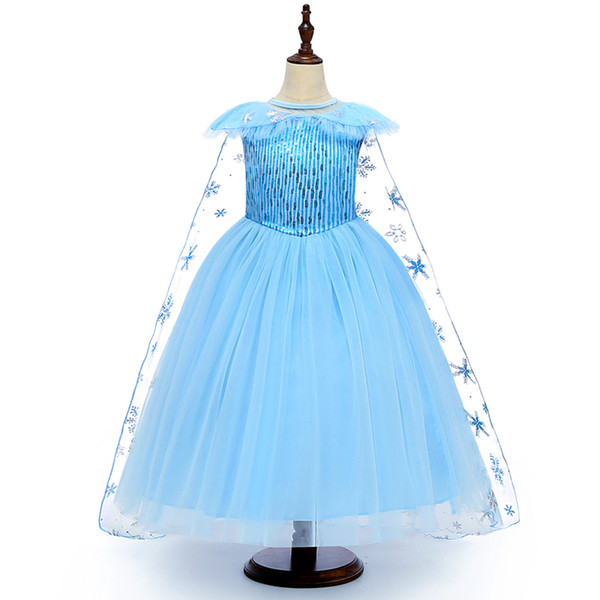 top popular Girls Cosplay Dresses Kids Cosplay Mesh Lace Party Dress Princess Dresses Yestidos Kids Costume Above 3T 04 2021