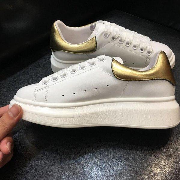 gold leather heel