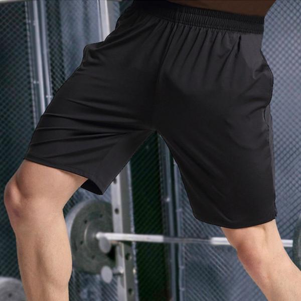 Laufhose Männer Trainings Marathon Quick Dry Fitness Gym Drucken Sport Shorts mit Reißverschluss Pocket Plus Lauf Jogger