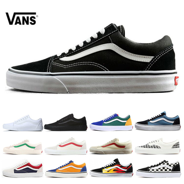 VANS Fear of God Old Skool Authentic Canvas Skate Shoes Mens Women Casual Shoes Running Shoes Trainers Sports Sneakers Size 36-44