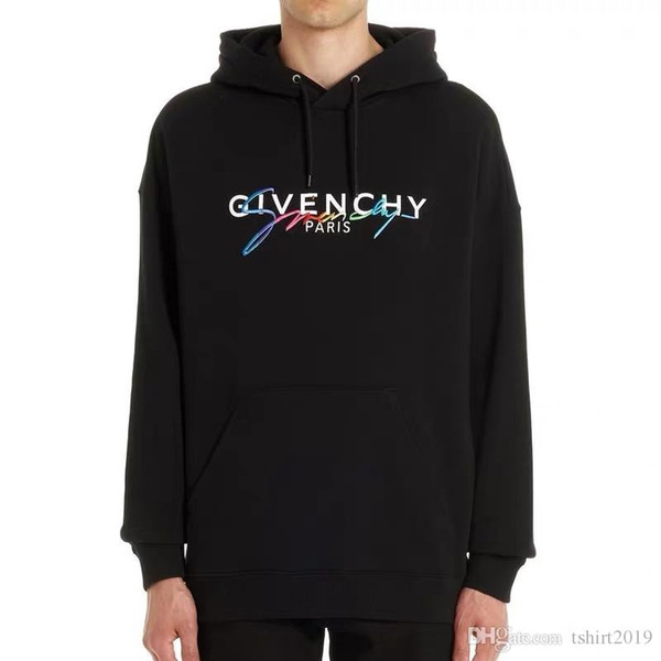 top popular FJG New fashion hoodies for men and women are made of cotton and genuine hoodies M-XXL ##886 2019