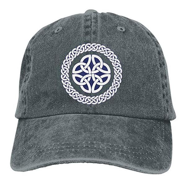 2019 новые дешевые бейсболки печать шляпа кельтский узел любви мужские хлопчатобумажные регулируемые промывают саржа бейсболка шляпа
