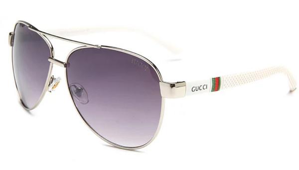 2019 Runde Metall Sonnenbrille Designer Brillen Gold Flash Glaslinse für Herren Damen Spiegel Sonnenbrille Runde unisex Sonnenbrille