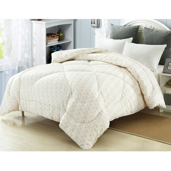 150x200cm cotton quilt warm nordic comforters for spring autumn 100% long-staple cotton bedding comforters single quilt - from $49.55