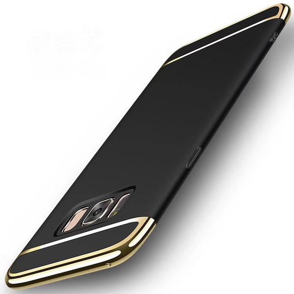 Slim Hybrid Bumper Electroplating Case For Samsung Galaxy Note 9 S9 S9+ S10 S10 Plus Note8 S8 S8+ S7 Edge S6 Edge S6