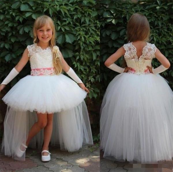 Платья для девочек-цветочниц, Принцесса Pageant Танцевальные платья, Свадебное платье для вечеринки по случаю дня рождения подружки невесты, Детские выпускные платья, детские платья-пачки TF65