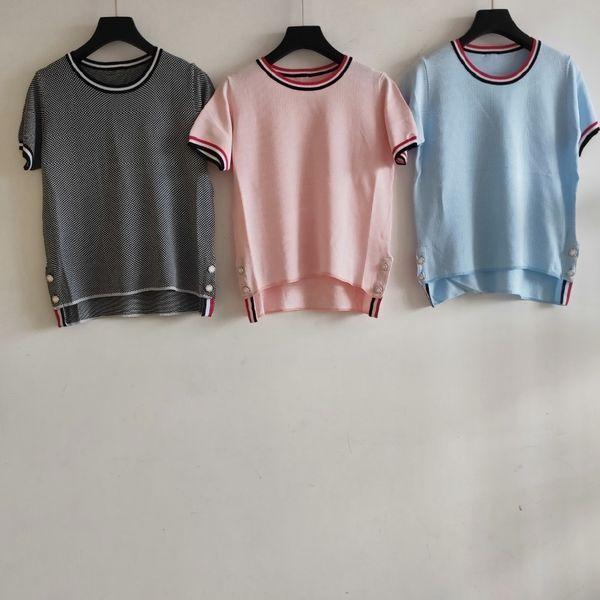 t-shirt femme t-shirt gonflable tissu de soie glacée de haute qualité incroyable charmante