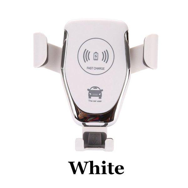 Белый Беспроводное зарядное устройство