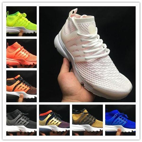 Homens verão Presto Alta Top Sapatos de Malha Mens Zapatos Presto Ultra Sapatos Formadores Sapatos Tamanhos EU36-46 Chaussures Femme