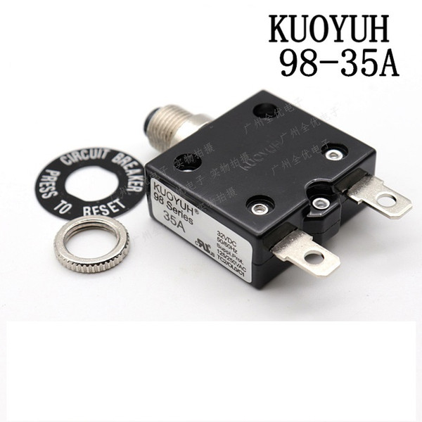 best selling Taiwan KUOYUH 98 Series-35A Overcurrent Protector Overload Switch