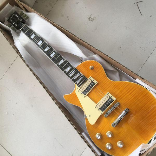 Frete grátis mão esquerda Standard 1959 guitarra elétrica ---- Cherry Sunburst