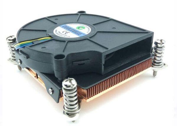 INTEL LGA1155/1156/1150 Server CPU Radiator 81*83*30mm Include Blower