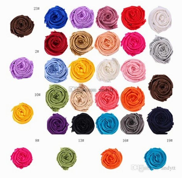 A última moda versátil lenço cor sólida franjas xale celebração presente promocional cachecol para homens e mulheres T10C007