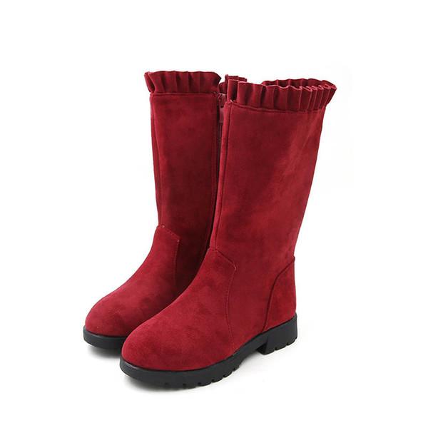 Girls Boots Winter Kids Boots big kids shoes girls shoes long Martin boots children shoes Snow Boot retail A8781