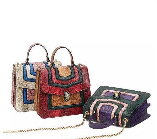 Ladies fashion messenger bag retro small handbag luxury style women's large cross handbag exquisite chain messenger bag