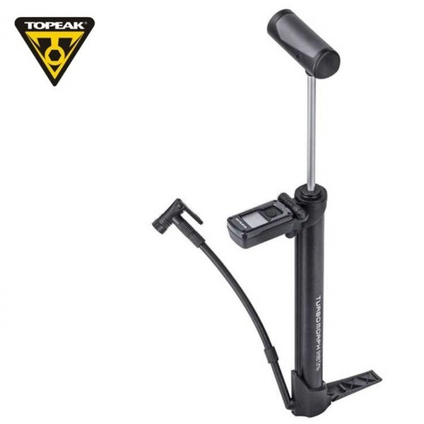 TOPEAK mountain bike road car with portable mini pointer pressure gauge folding pedal inflator TTM-DG American French mouth #299207