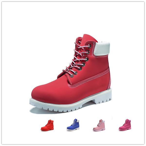 Оригинальные мужские женские зимние сапоги каштановые черные белые красные синие серые зеленые женские мужские дизайнерские ботинки Martin на открытом воздухе