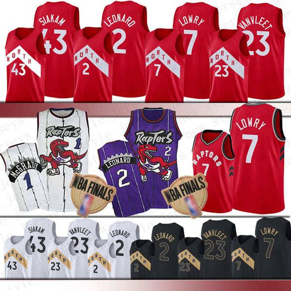 Men Youth Kawhi 2 Leonard jersey NCAA Fred 23 VanVleet Kyle 7 Lowry Vince 15 Carter Pascal 43 Siakam Basketball Jerseys Leonard