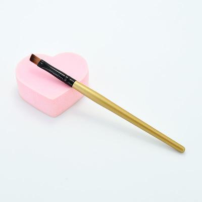 New Arrival multi-color handle Single Eyebrow Brush Eyebrow Cream Brush OPP Packaging Makeup Brush FBQ